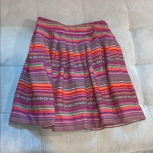 Forever 21 Skirts - EUC! Aztec print multi color skirt size Small.